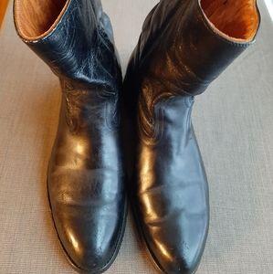 VINTAGE ACME ROYAL WELLINGTON BLACK BOOTS 10.5